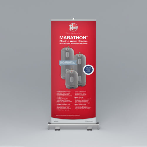 Marathon® Series Roll-Up Banner