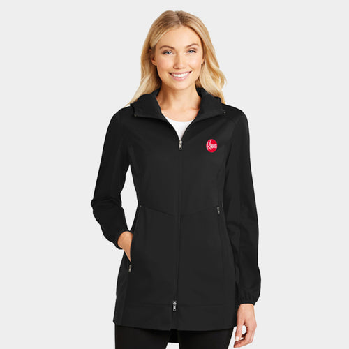 Ladies Active Hooded Soft Shell Jacket