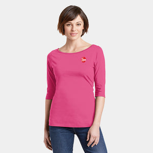 Ladies Perfect Weight® 3/4-Sleeve Tee