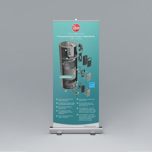 ProTerra Hybrid Electric Cut-Away Roll-Up Banner