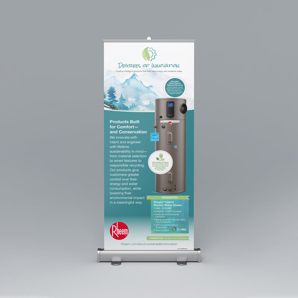 Sustainability Roll-Up Banner