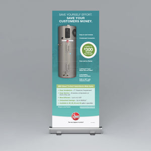 ProTerra Hybrid Electric Roll-Up Banner