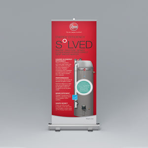 Prestige® Series Condensing Direct Vent Roll-Up Banner