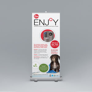 Prestige® Series Hybrid Electric Roll-Up Banner