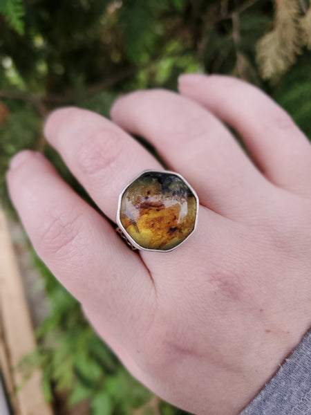 Honeycomb Ring Size 9