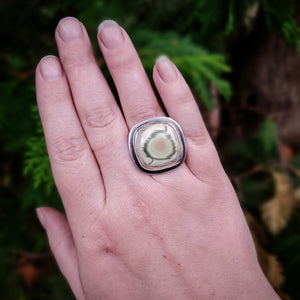 Grow Your Garden Ring Square Size 7