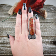 Nature Takes Over Ring Size 8.5 - WOOD BISON METAL