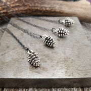 Pine Cone Pendant - WOOD BISON METAL