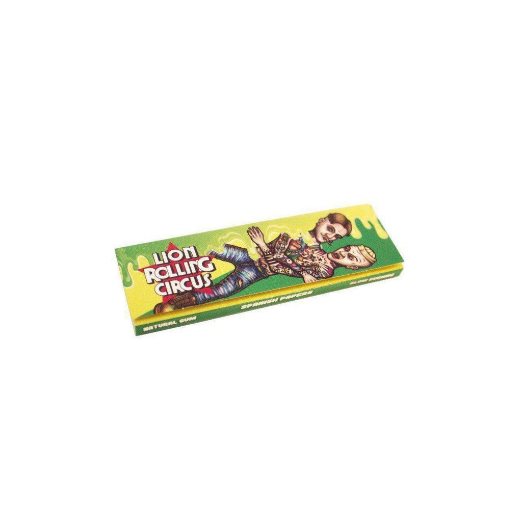 1 1/4 Lion Rolling Circus FLAVORED Rolling Papers - MIND MINT