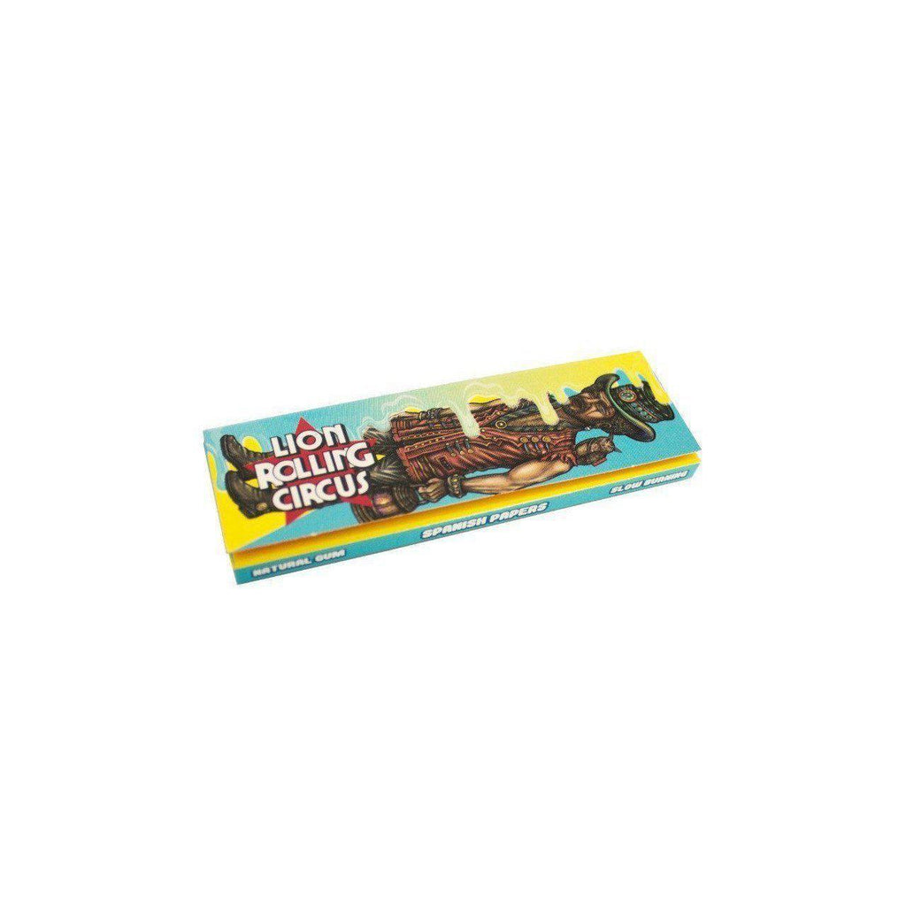1 1/4 Lion Rolling Circus FLAVORED Rolling Papers - CRAZY COCO (Coconut)