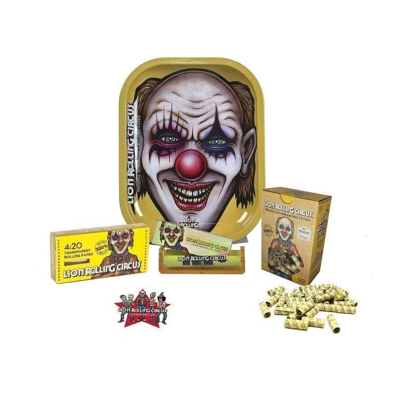 Bundle - Lion Rolling Circus - 6 Freaky Smoking Essential Items