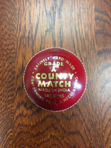 Impakt Cricket Ball County Match 4 piece Red