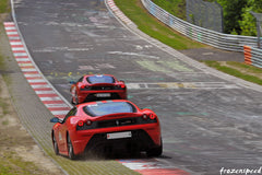 Ferraris on the Nurburgring: Scuderia duel