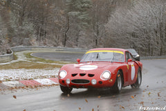 Ferraris on the Nurburgring: 330 LMB in winter