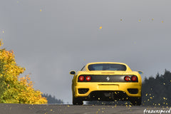 Ferraris on the Nurburgring: F360 autumn leaves