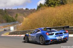 Ferraris on the Nurburgring: F458 in spring
