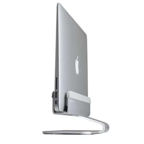 mTower Vertical Laptop Stand - Silver