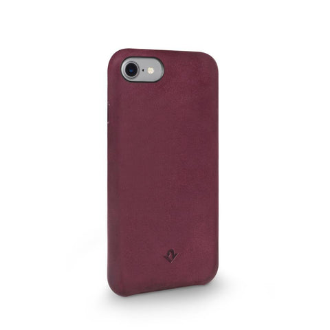 Relaxed Leather case - iPhone 7/8 - Marsala Red