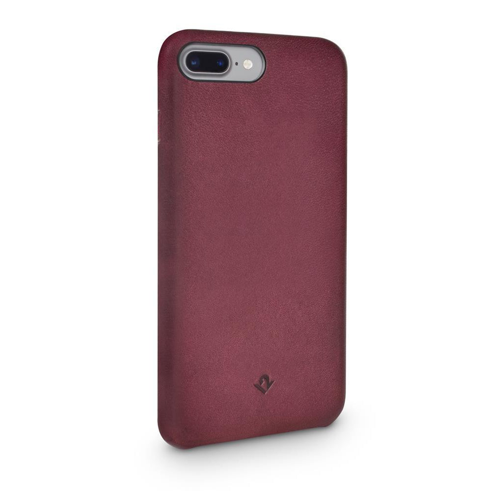 Relaxed Leather case - iPhone 7/8 Plus - Marsala Red