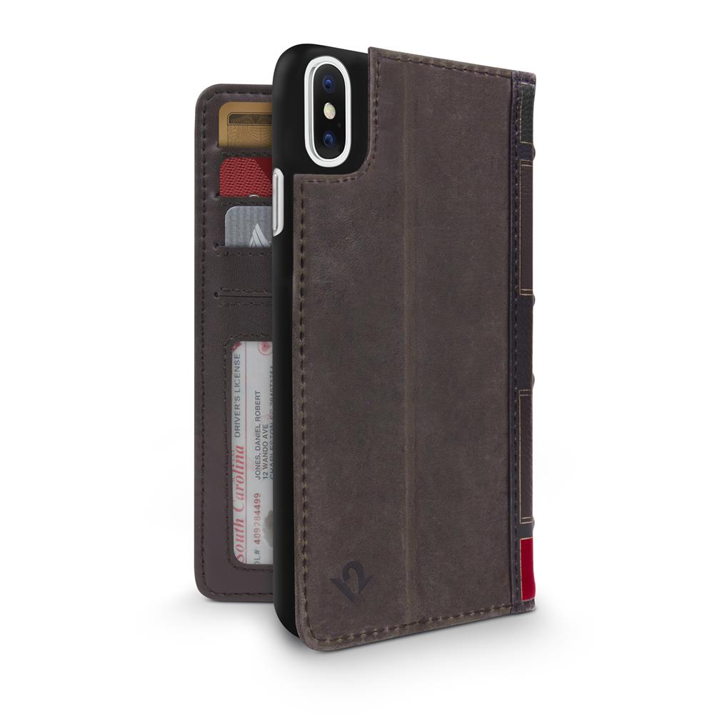 BookBook for iPhone X/XS - Brown