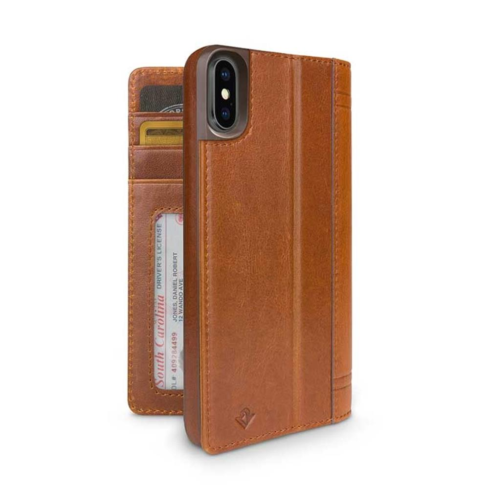 Journal for iPhone X / XS - Cognac