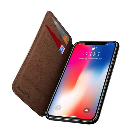 SurfacePad for iPhone X - Cognac