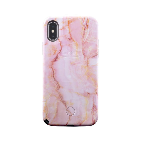 Selfie for iPhone X/XS - Pink Quartz