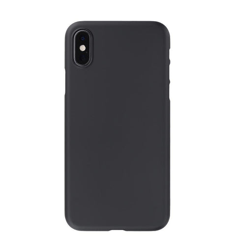 Air Jacket for iPhone XS Rubberised Black