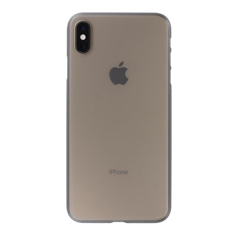 Air Jacket for iPhone XS Max Smoke Matte