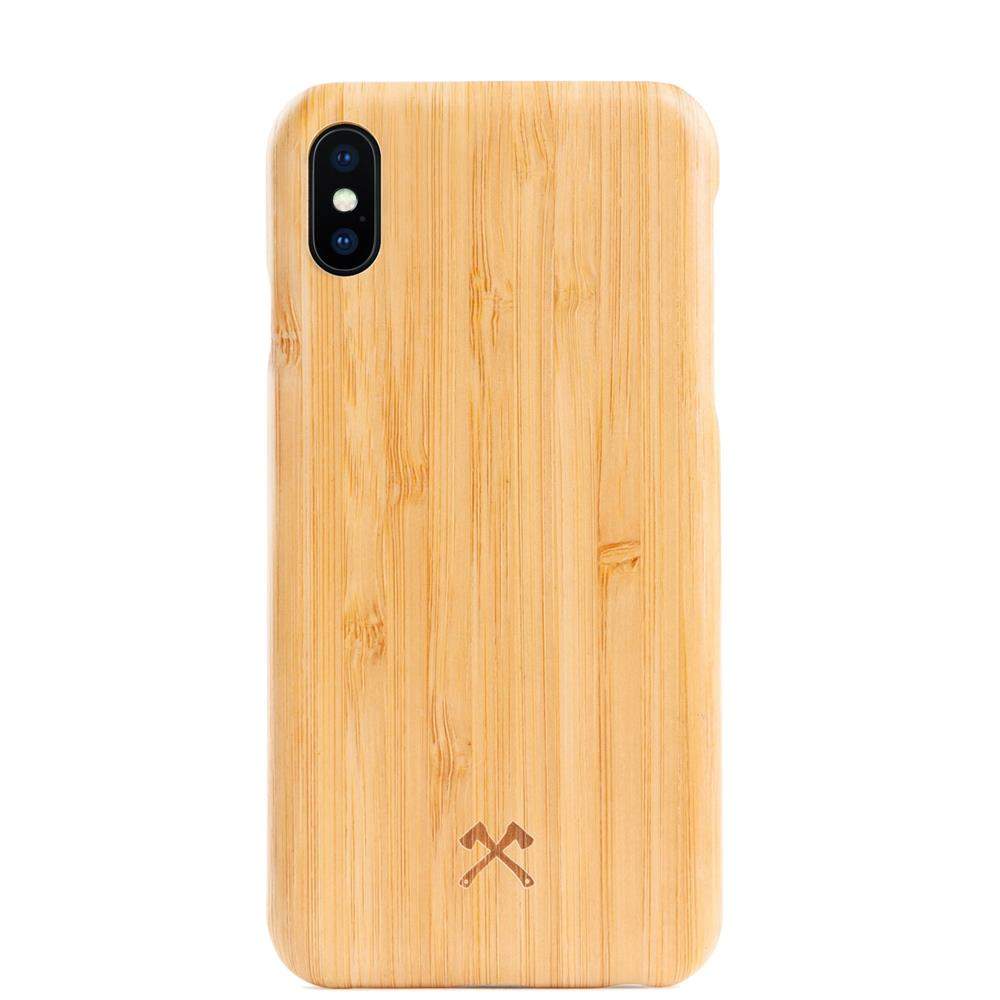 EcoCase Slim - iPhone X/XS - Bamboo