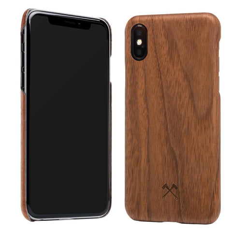 EcoCase Slim - iPhone XS Max - Walnut