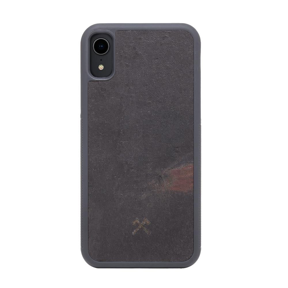 EcoBump Stone - iPhone XR - Volcano Black