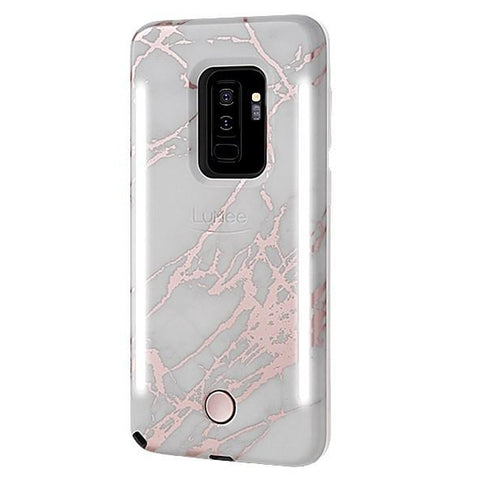 DUO for Galaxy S9 Plus - Metallic Rose White