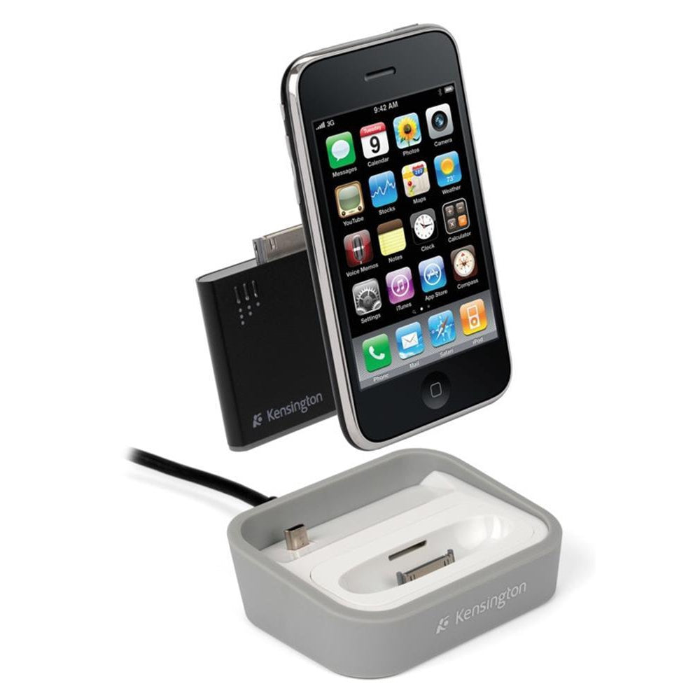 Charge and Sync Dock with Mini Battery Pack for iPhone (30 pin)