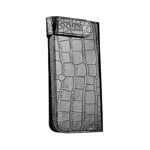 Hampton Wallet for iPhone 5/5s/SE - Black Croc