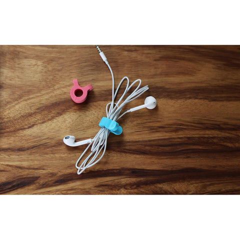 A-Clip Magnetic Cable Organiser - Pink/Blue/Grey/Green