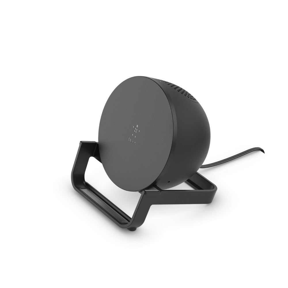 BoostCharge Wireless Charging Stand and Speaker - Black