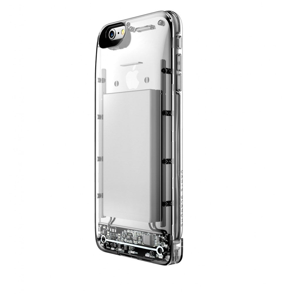Hybrid Power Case - iPhone 6/6s Plus - Clear
