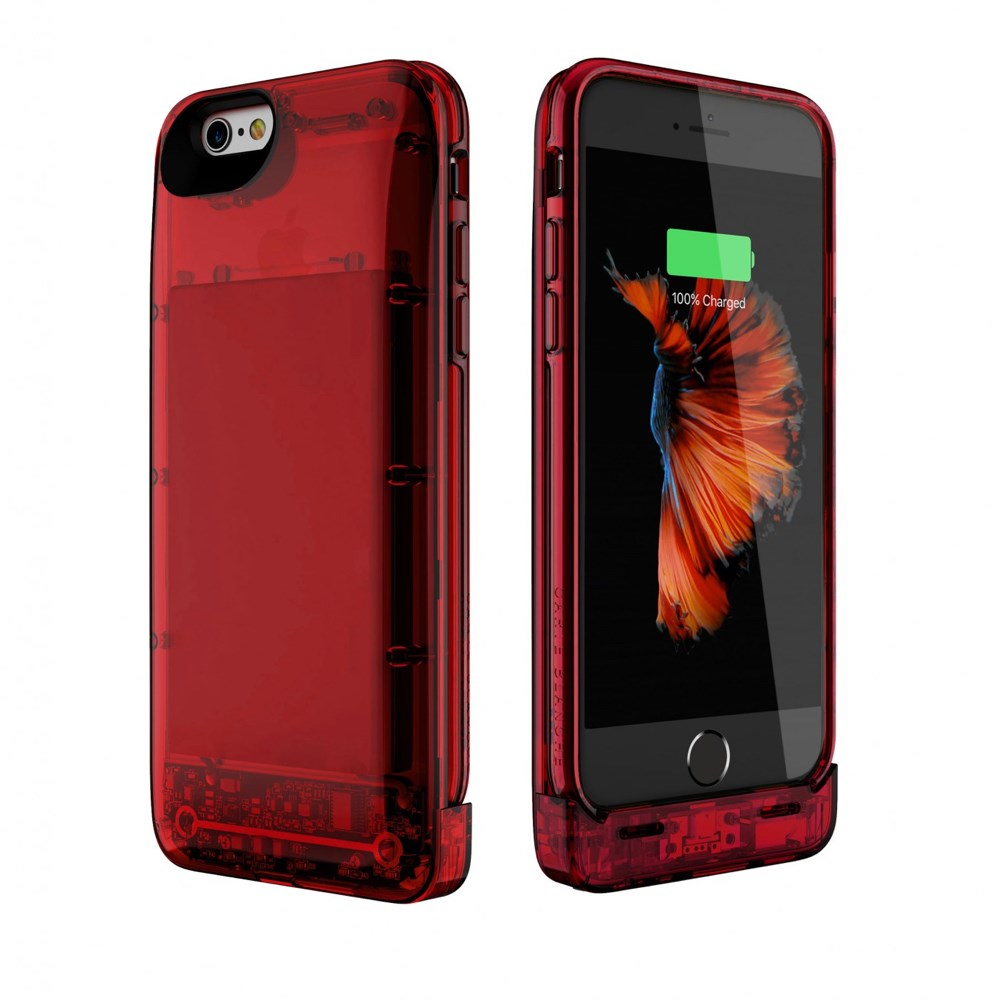 Hybrid Power Case - iPhone 6/6s - Red Ruby