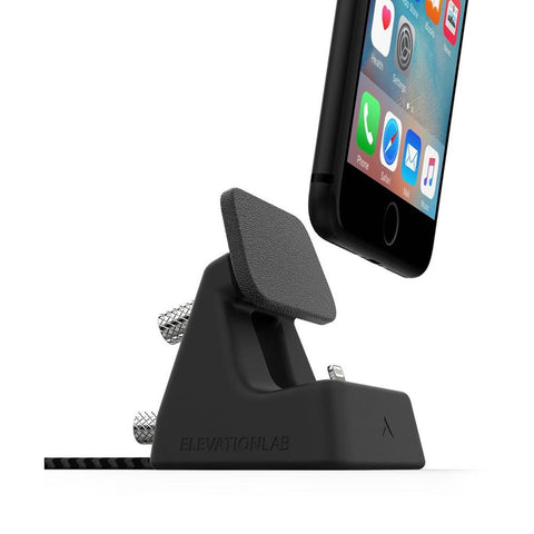 Dock4 for iPhone - Black/Silver