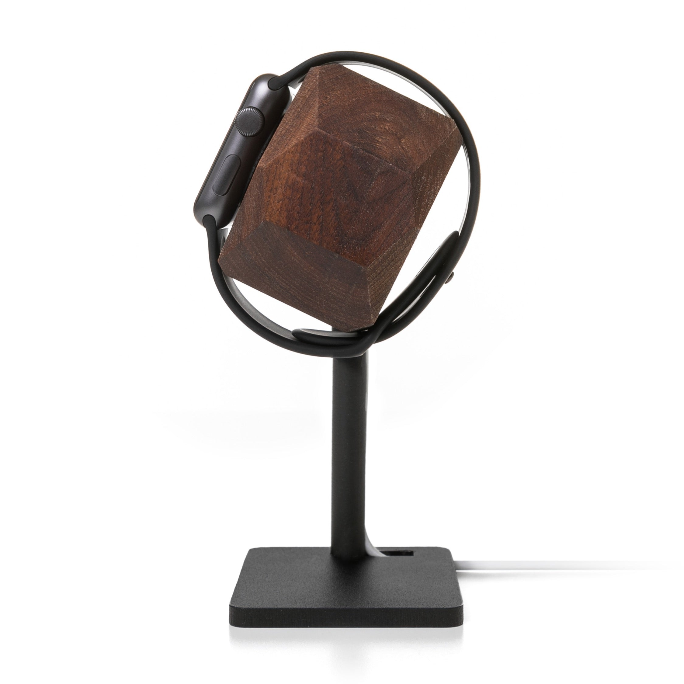 EcoDock Watch - Walnut