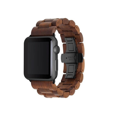 EcoStrap - 42/44mm - Walnut/Black