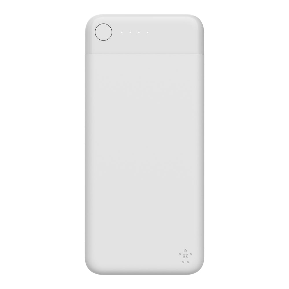 Boost Charge Power Bank 10K w/ Lightning - White