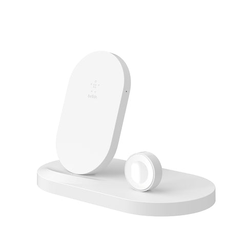 Boost Up Wireless Dock for Apple Watch & iPhone - White