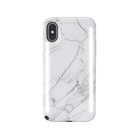 DUO for iPhone XS - White Marble v2