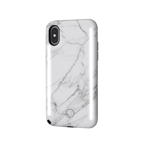 DUO for iPhone XS Max - White Marble