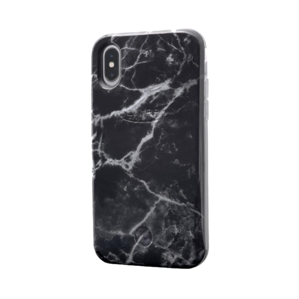 Selfie for iPhone X/XS - Black Marble