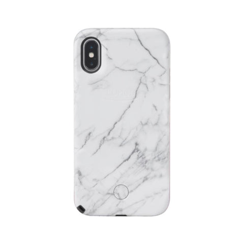 Selfie for iPhone X/XS - White Marble