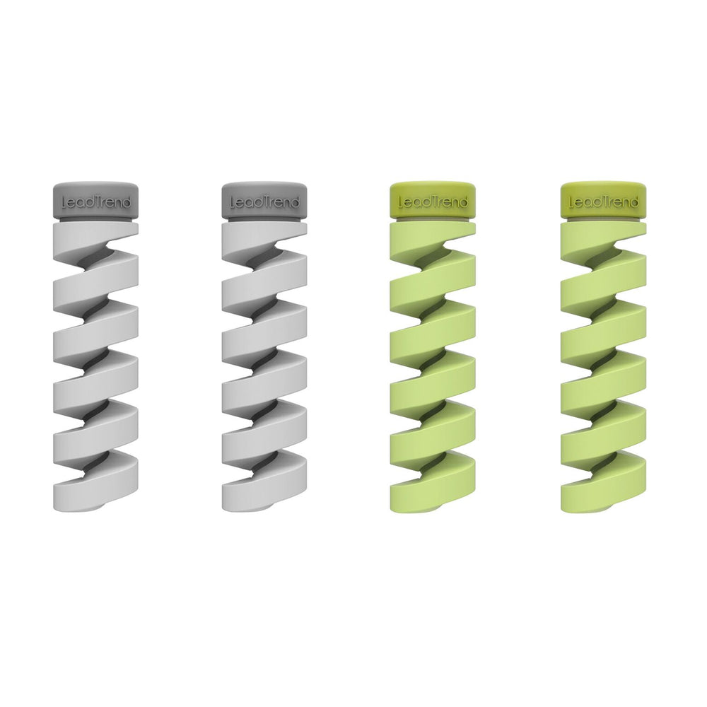 Twist Cable Protector - Grey, Green