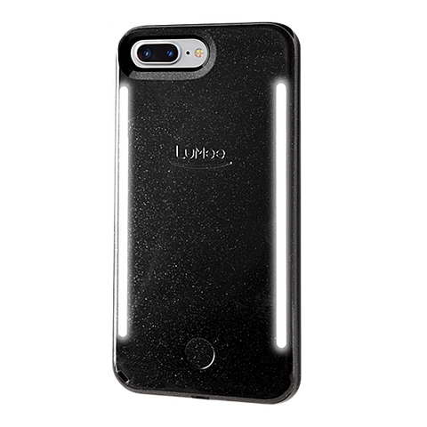 DUO for iPhone 6/7/8 Plus - Black Glitter